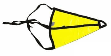 SEA ANCHOR DROGUE - YELLOW - suit boat up to 25 feet yacht sailing dinghy